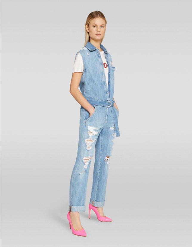 Jumpsuit di jeans Dondup