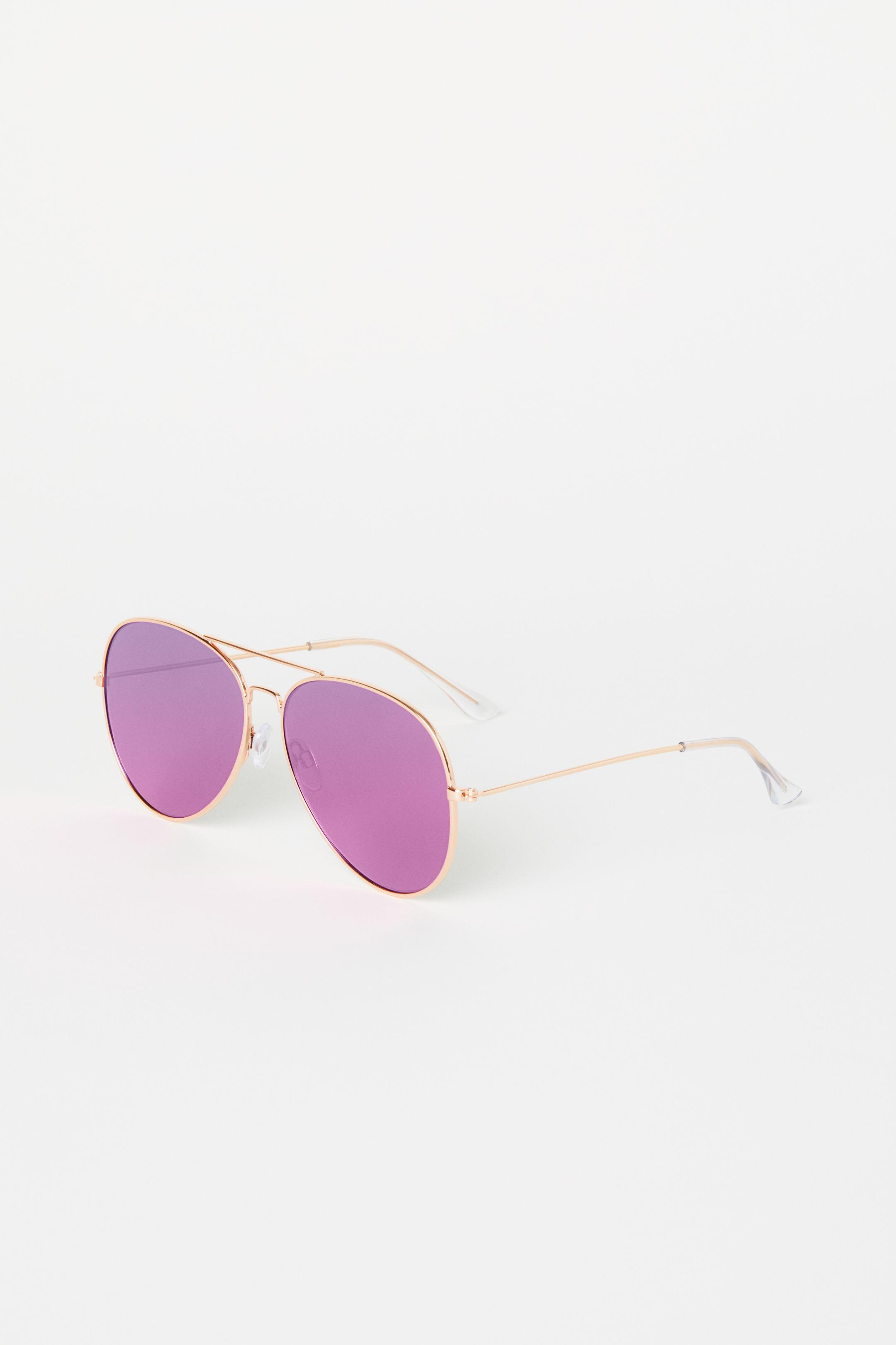 Occhiali da sole aviator con lenti colorate H&M