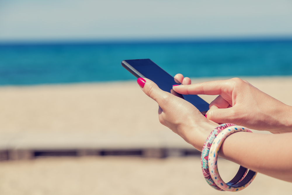 Regole mare smartphone