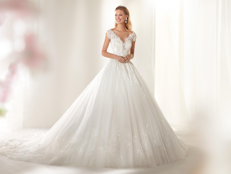 Vestito da sposa da principessa Colet