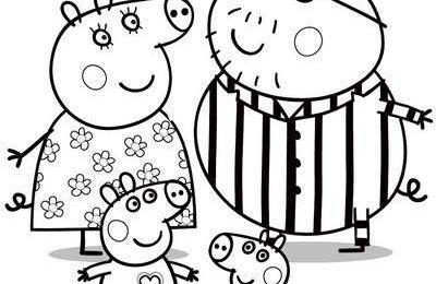 Disegni Peppa Pig da colorare: i più belli da stampare per bambini [FOTO]