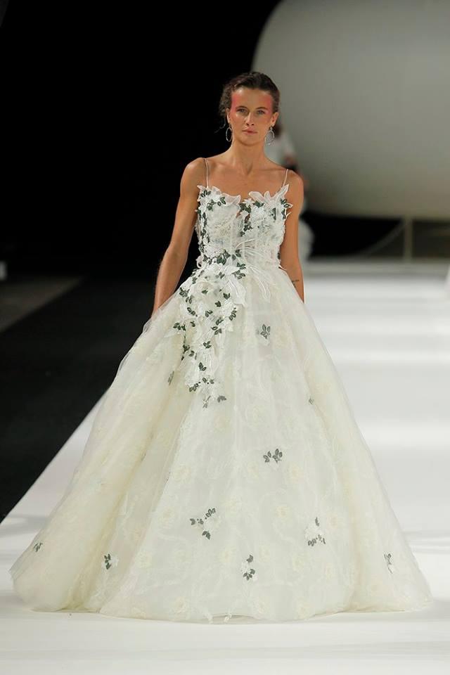 Abito da sposa da principessa Yolan Cris