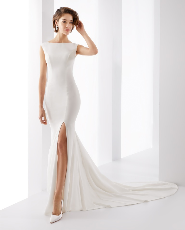 Abito da sposa in seta Jolie