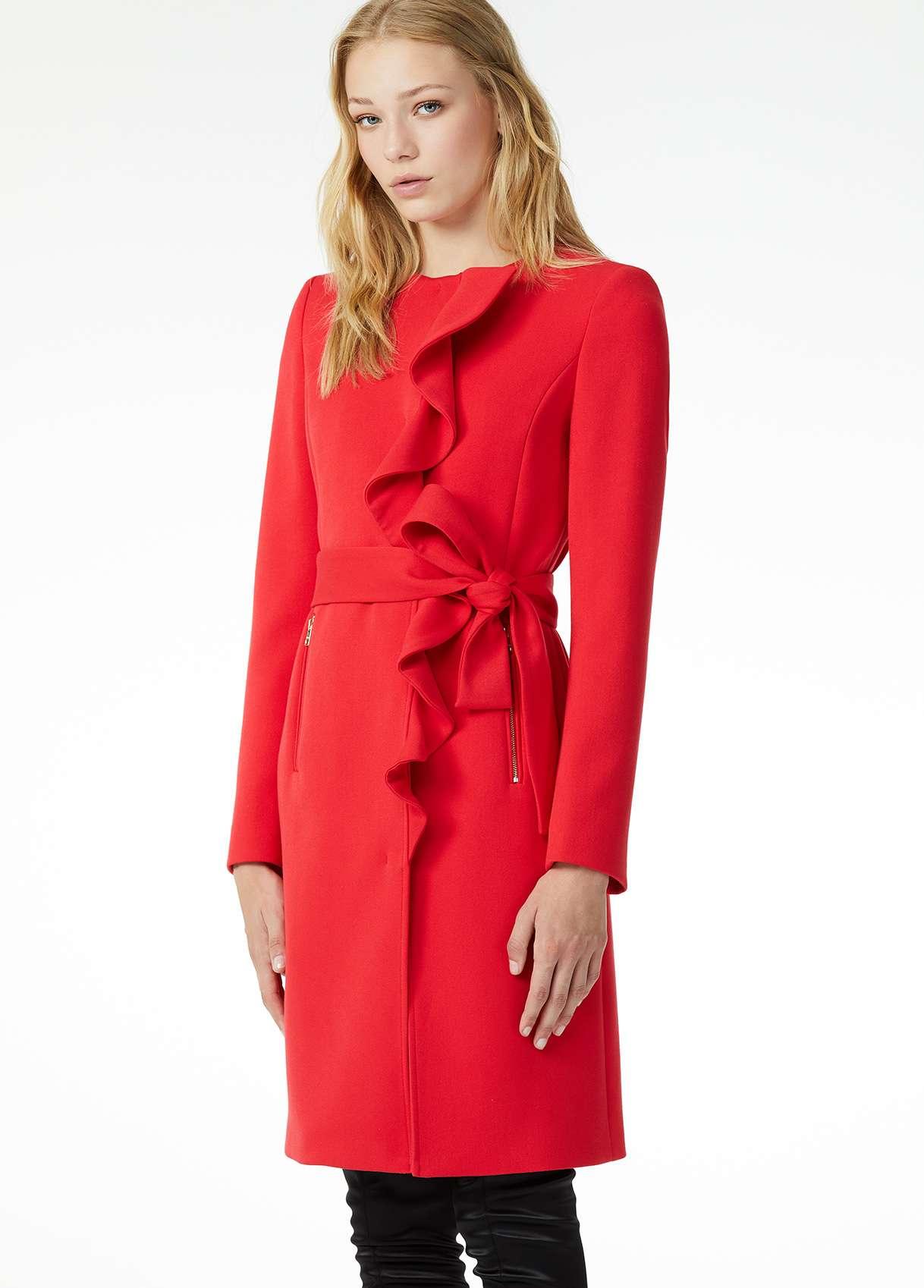 Cappotto rosso elegante Liu Jo a 339 euro