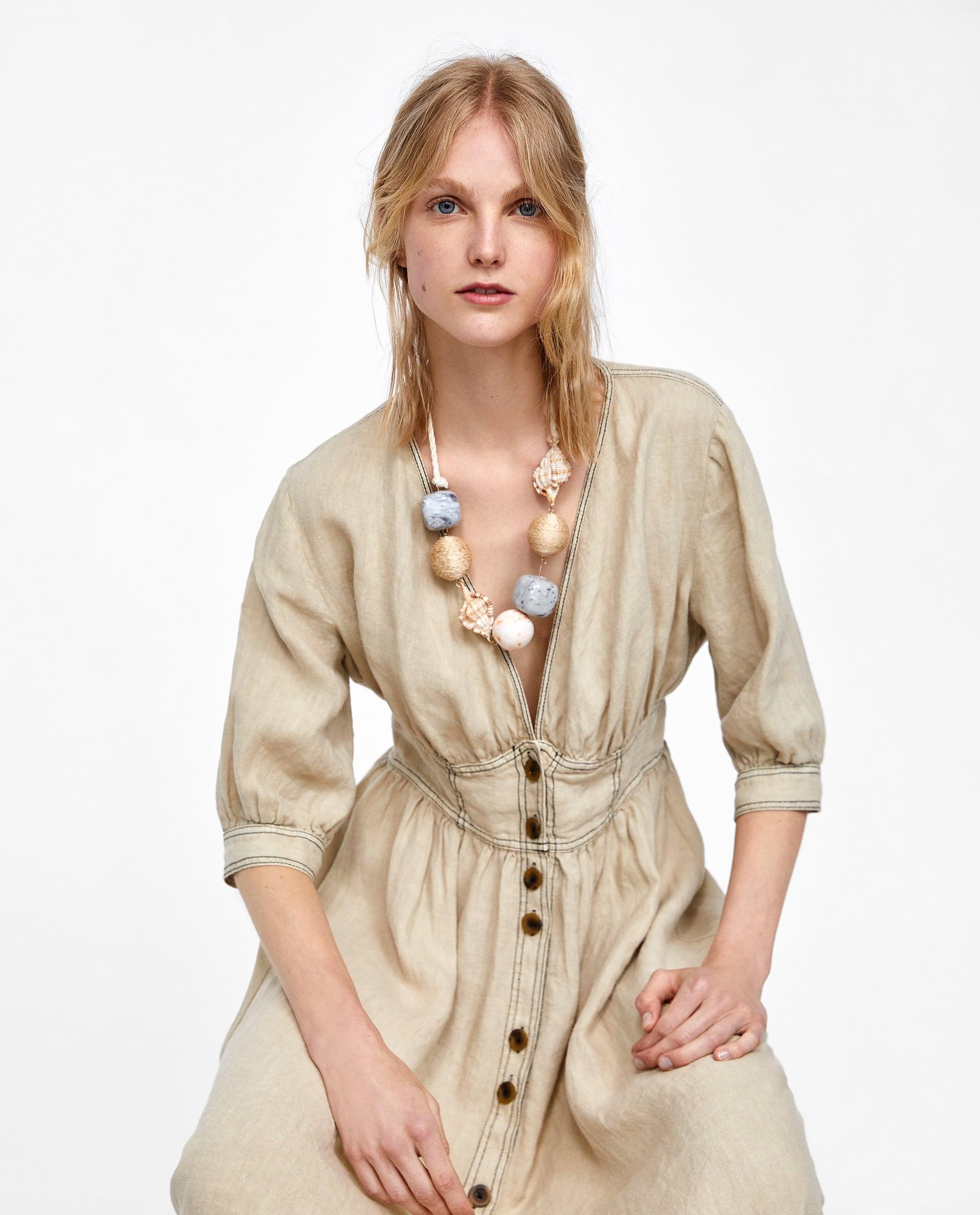 Collana Zara con grandi pendenti