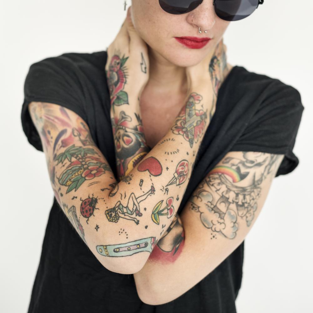 tatuaggi femminili braccio