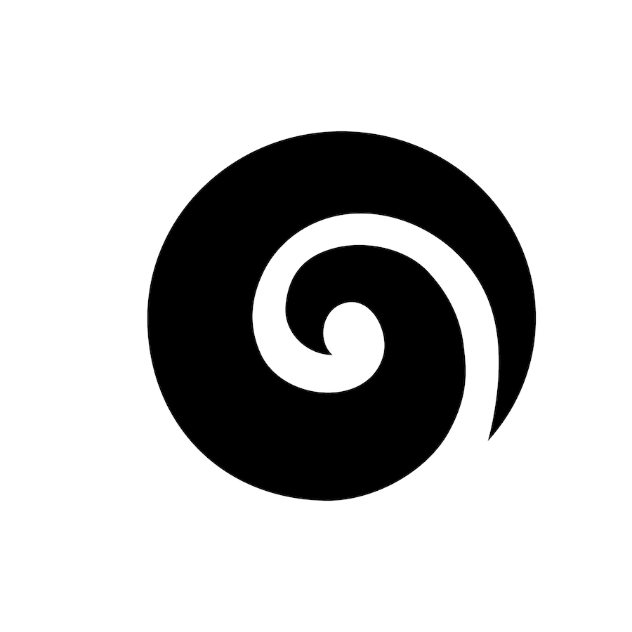 tatuaggio maori koru