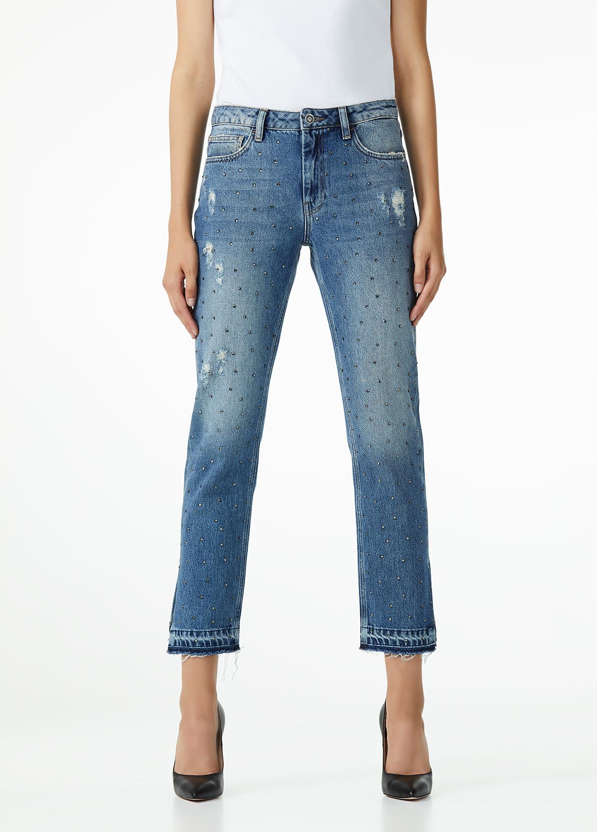 Jeans con applicazioni Liu Jo al prezzo di 149 euro