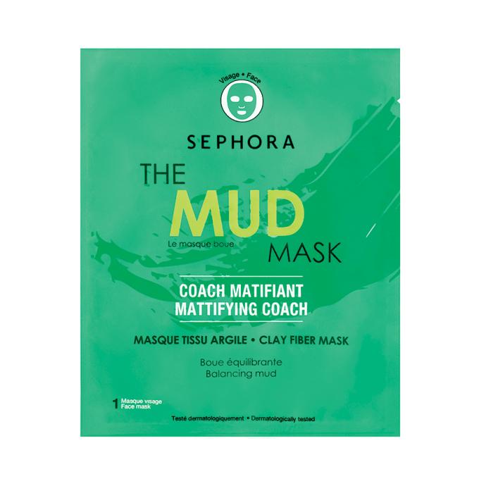 Maschera The Mud Mask in tessuto di Sephora