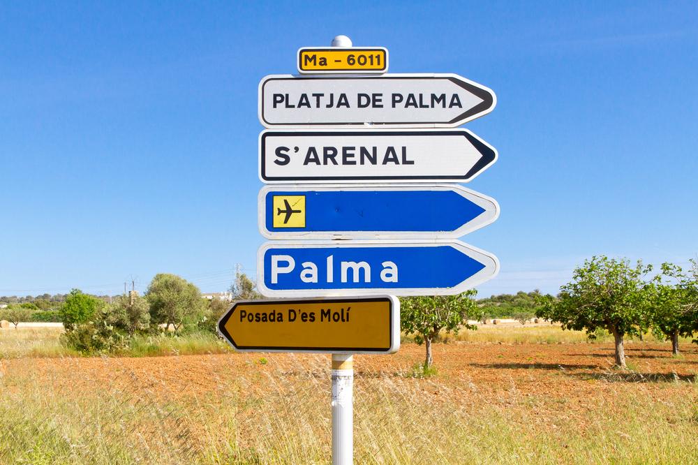 Palma di Maiorca come arrivare