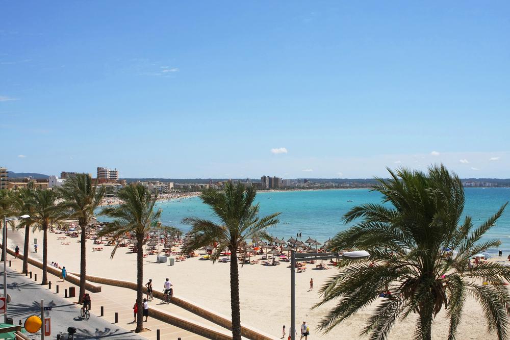 Palma di Maiorca spiaggia Can Pastilla