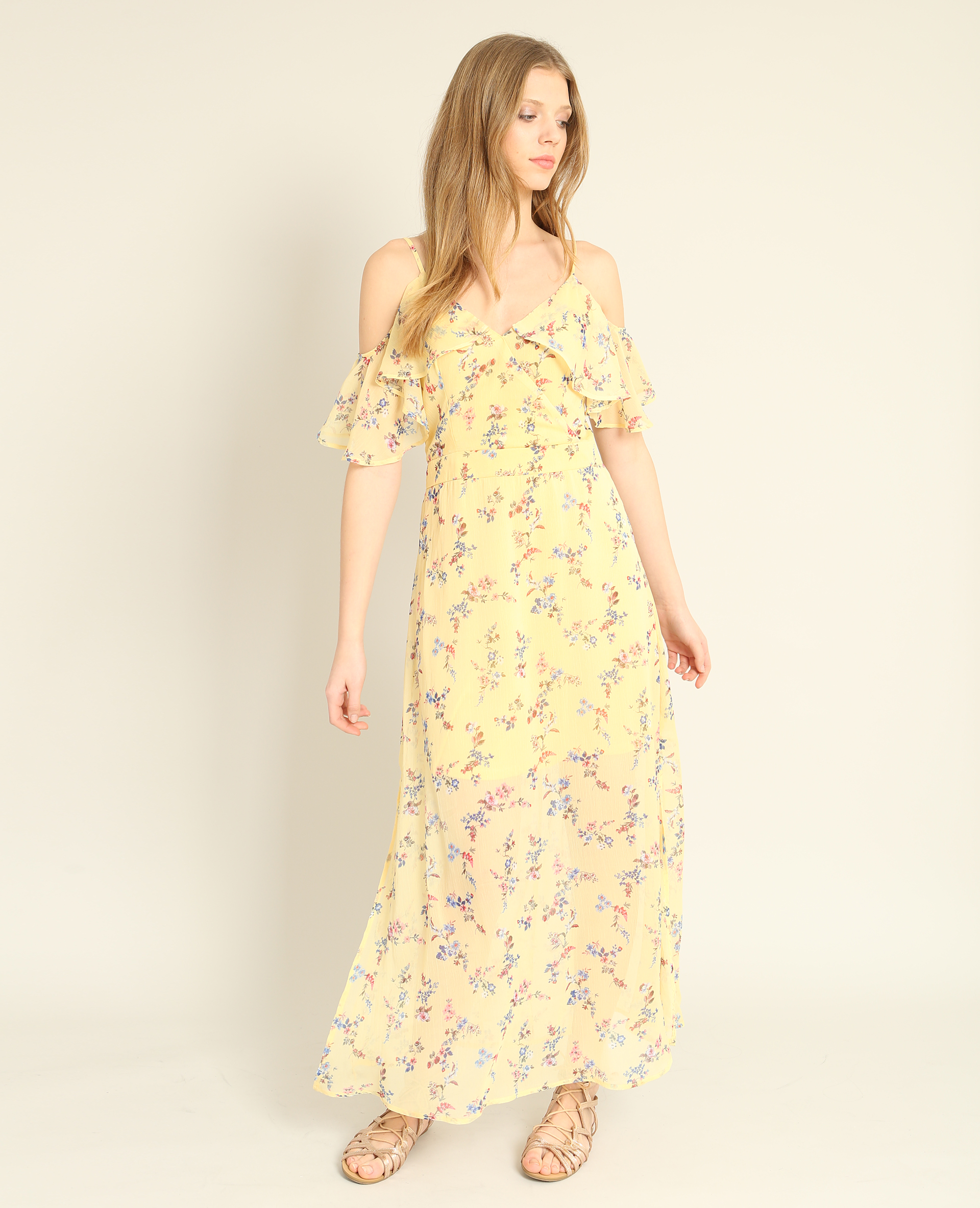 Pimkie, vestito lungo a fiori