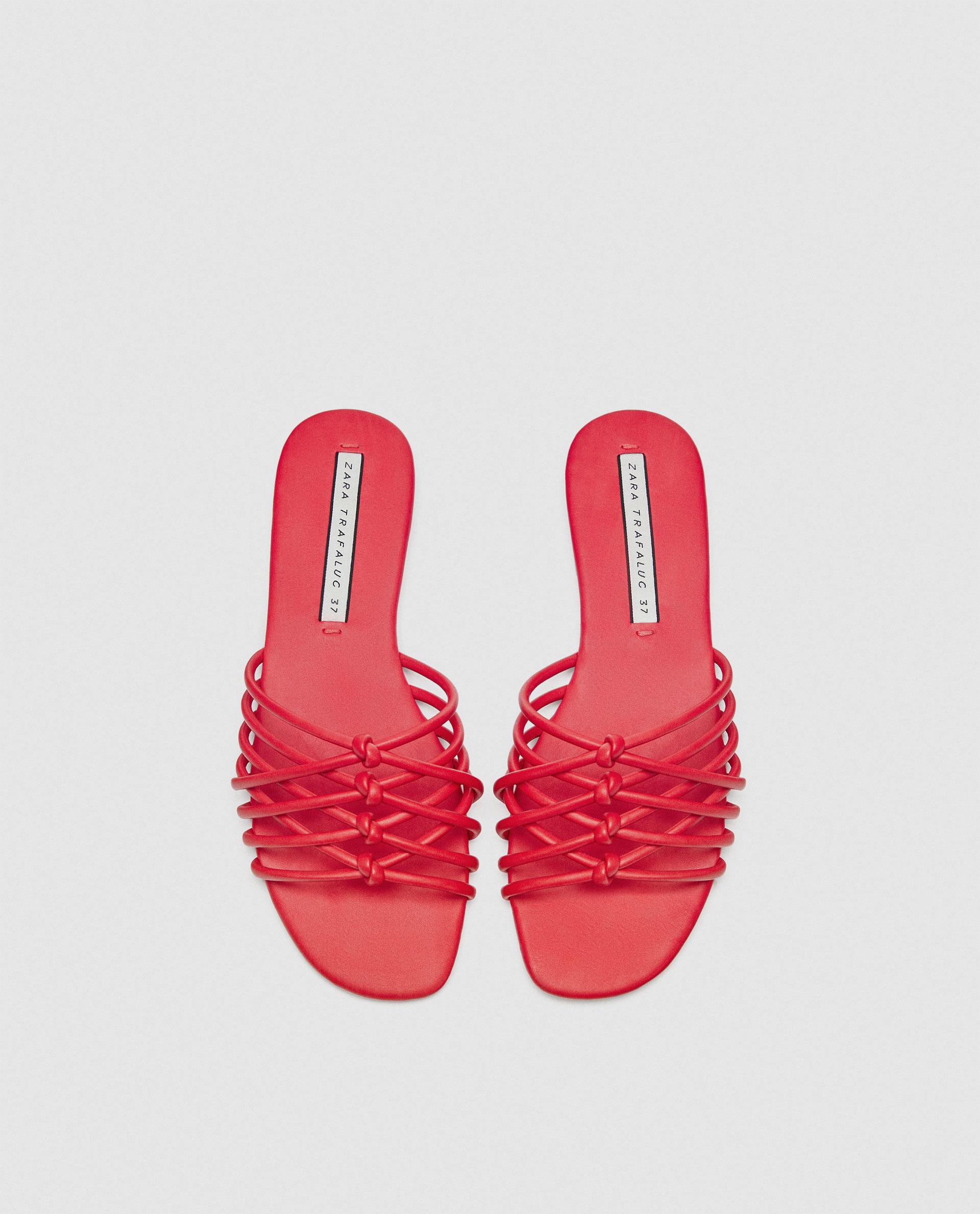 Sandali mare bassi Zara