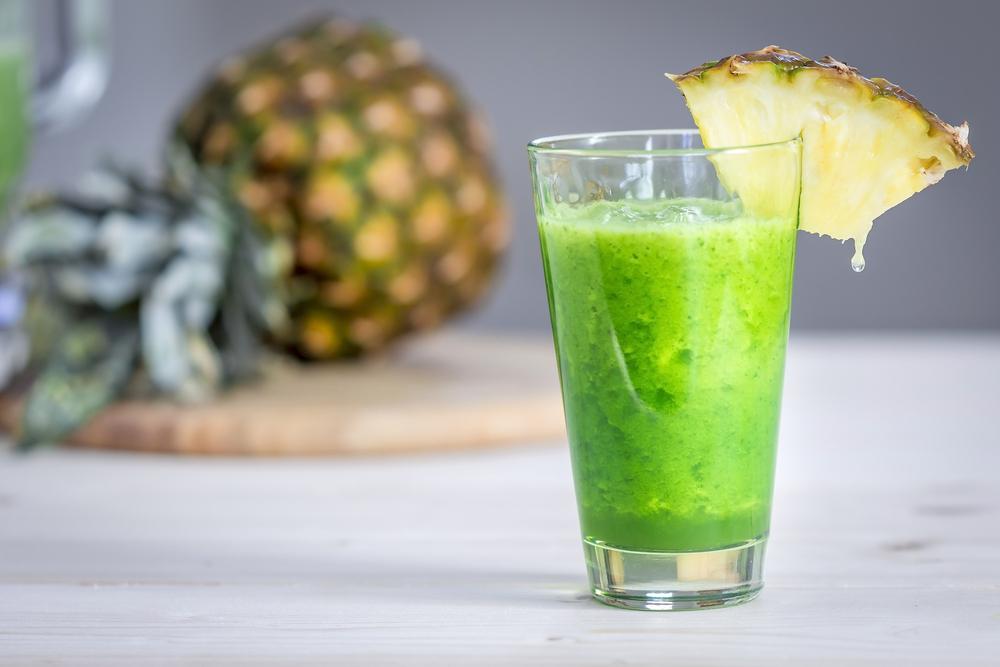 centrifuga ananas spinaci