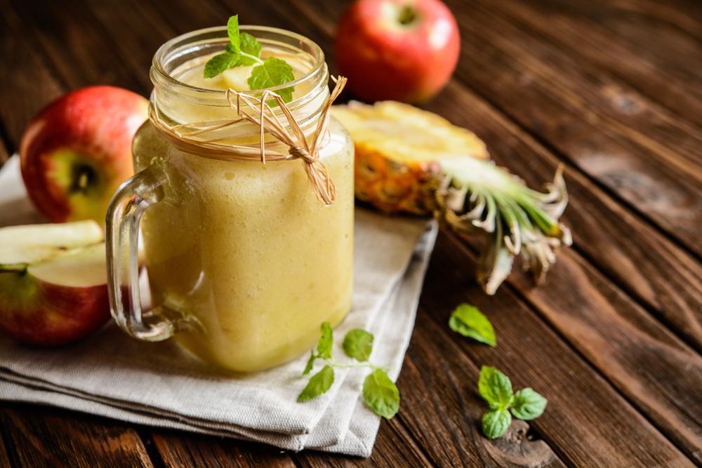 centrifugato ananas arance mele