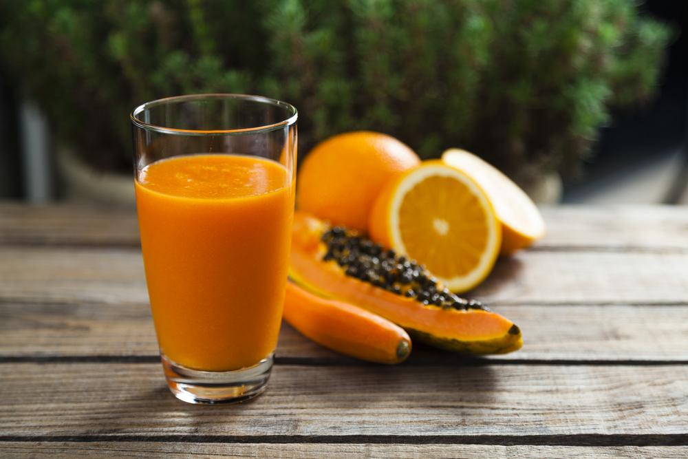 centrifugato mela pompelmo papaya