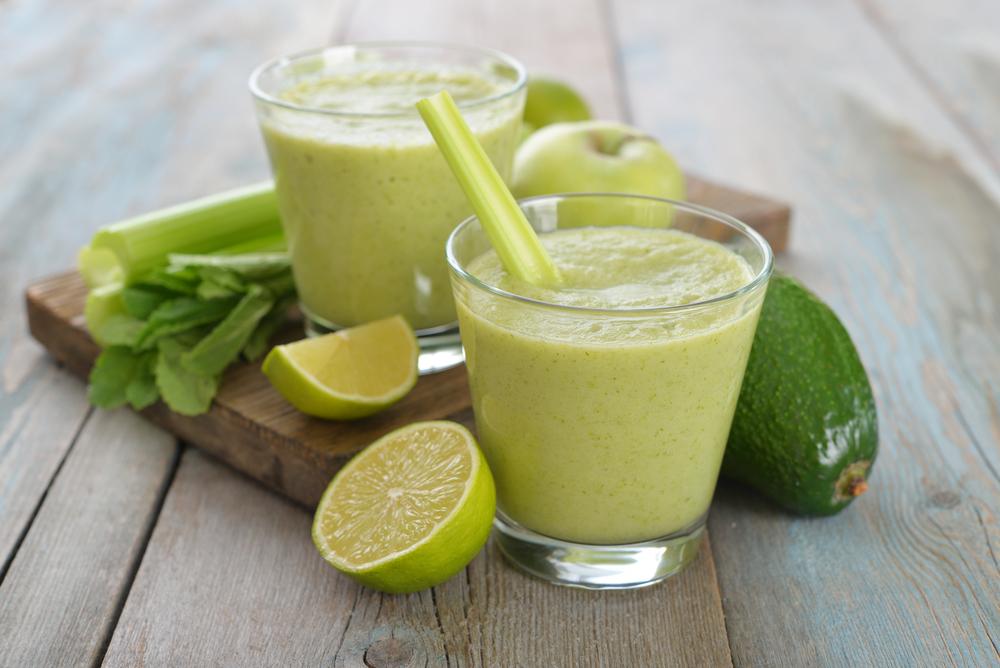 centrifugato sedano avocado lime