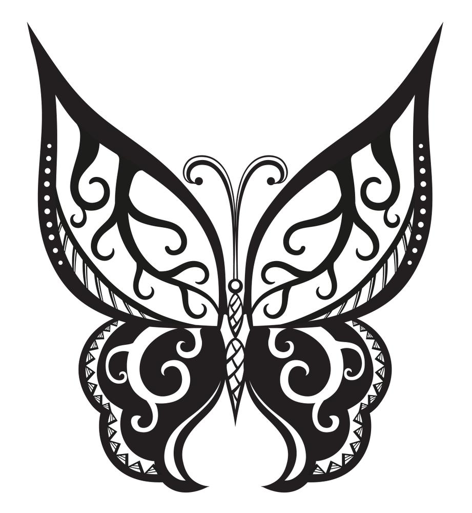 farfalla maori