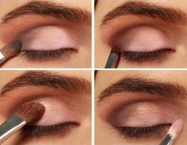 trucco leggero per occhi marroni come farlo