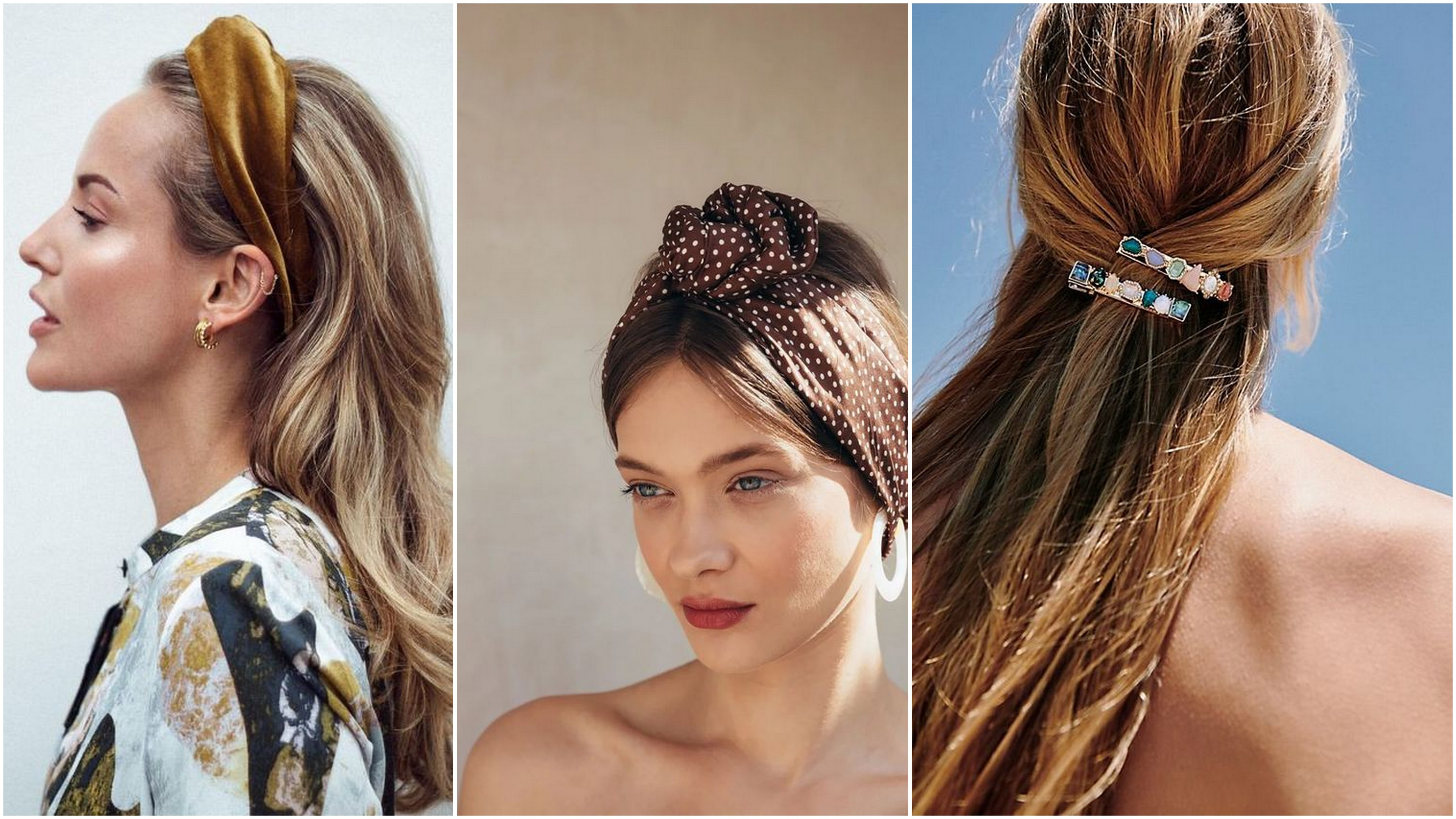 Gli accessori per capelli da non perdere per l'estate 2018