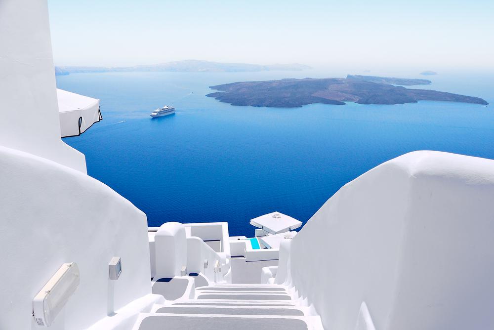 Caldera Santorini Grecia