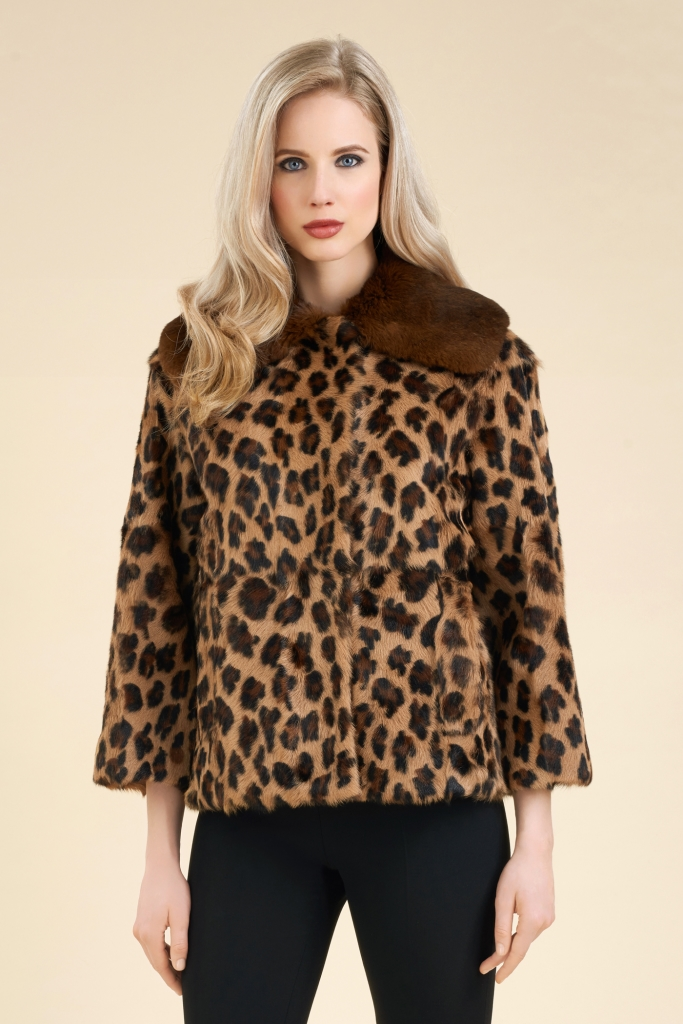 Cappotto di pelliccia Luisa Spagnoli a 1200 euro