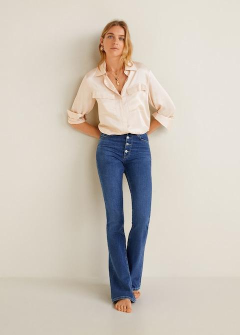 Jeans a zampa Mango a 49,99 euro