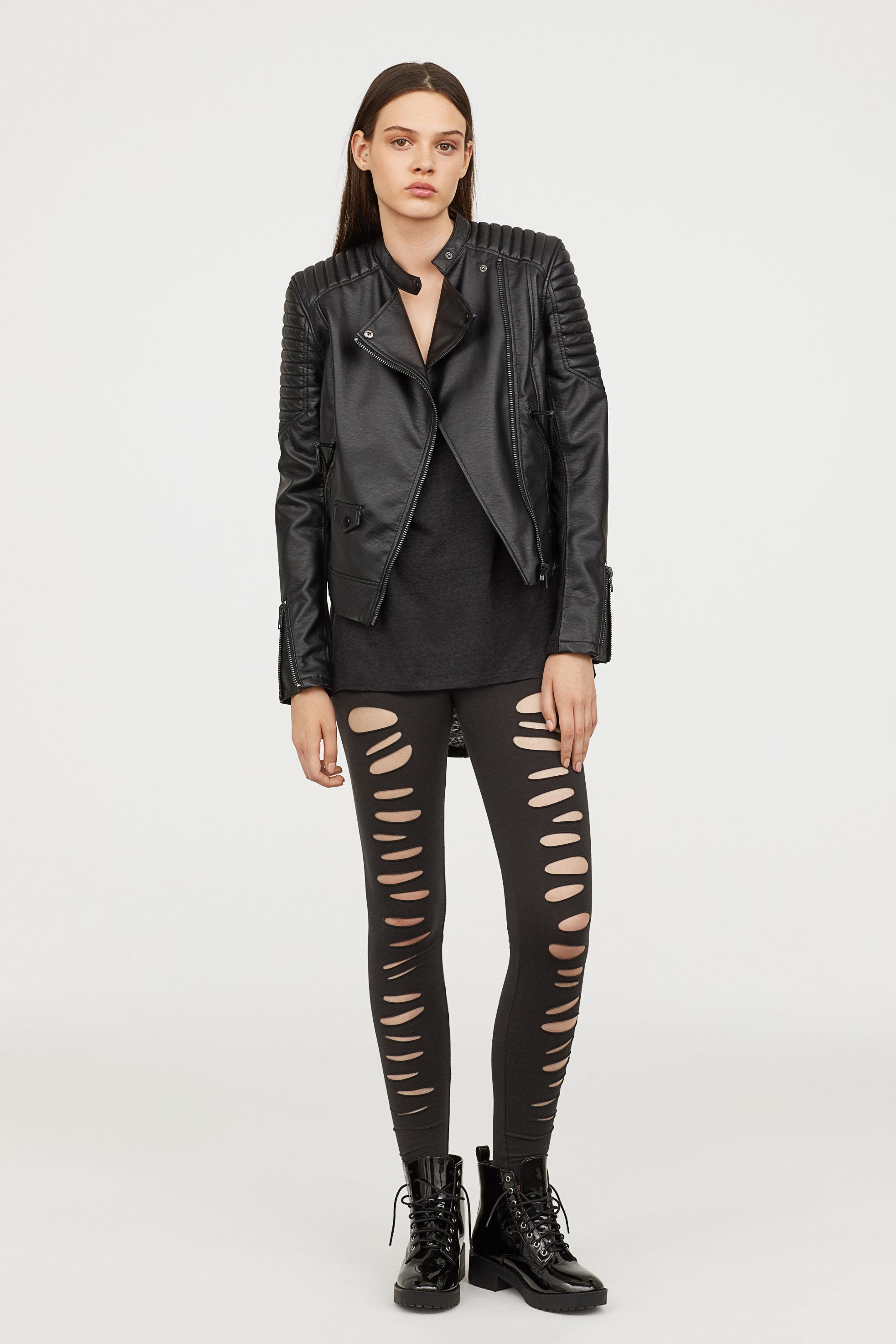 Leggings strappati H&M a 14,99 euro