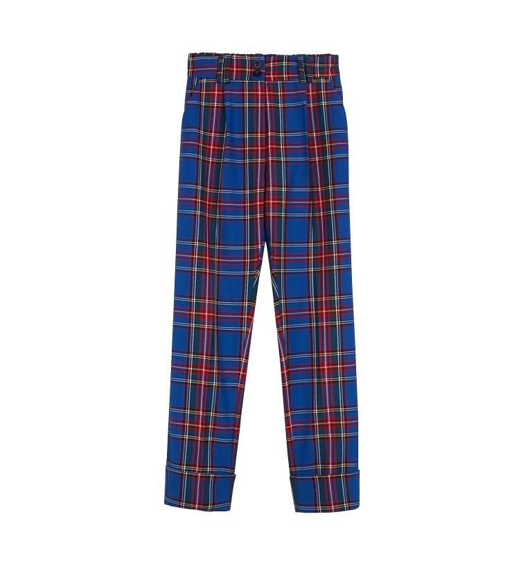 Pantaloni a quadri tartan Bershka
