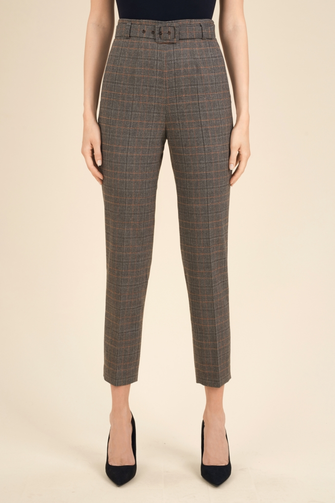 Pantaloni a sigaretta misto lana a 188 euro