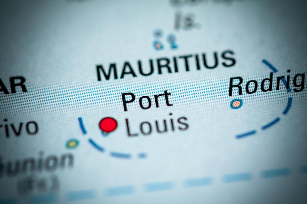 Port Louis Mauritius mappa
