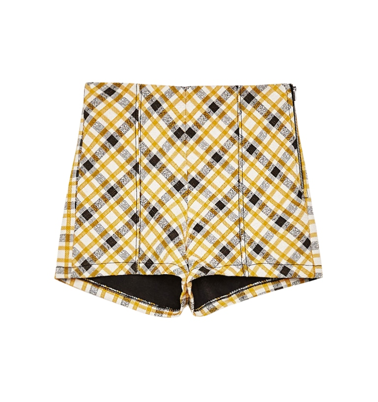 Shorts a quadri Bershka