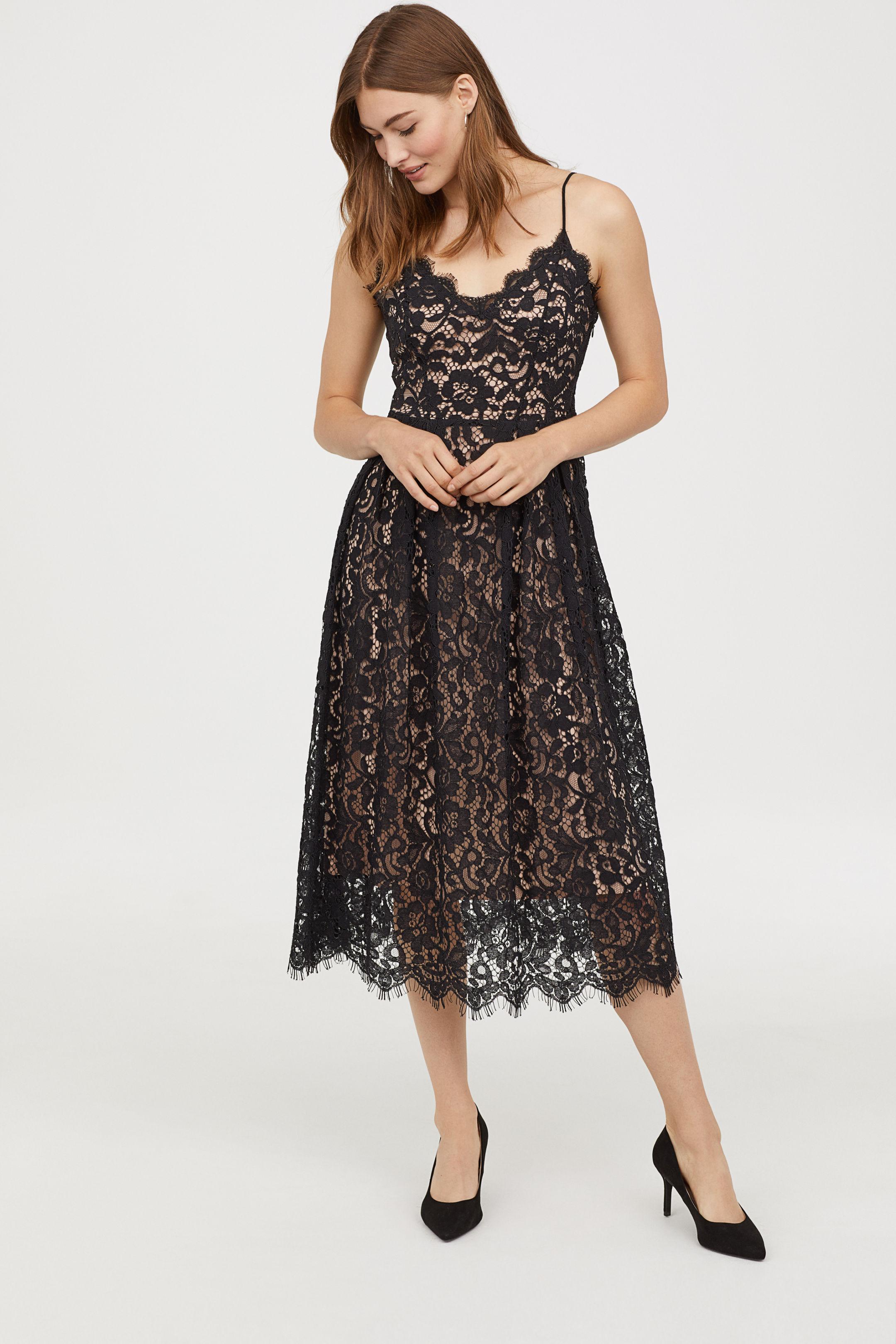 Vestito elegante in pizzo H&M a 69,99 euro