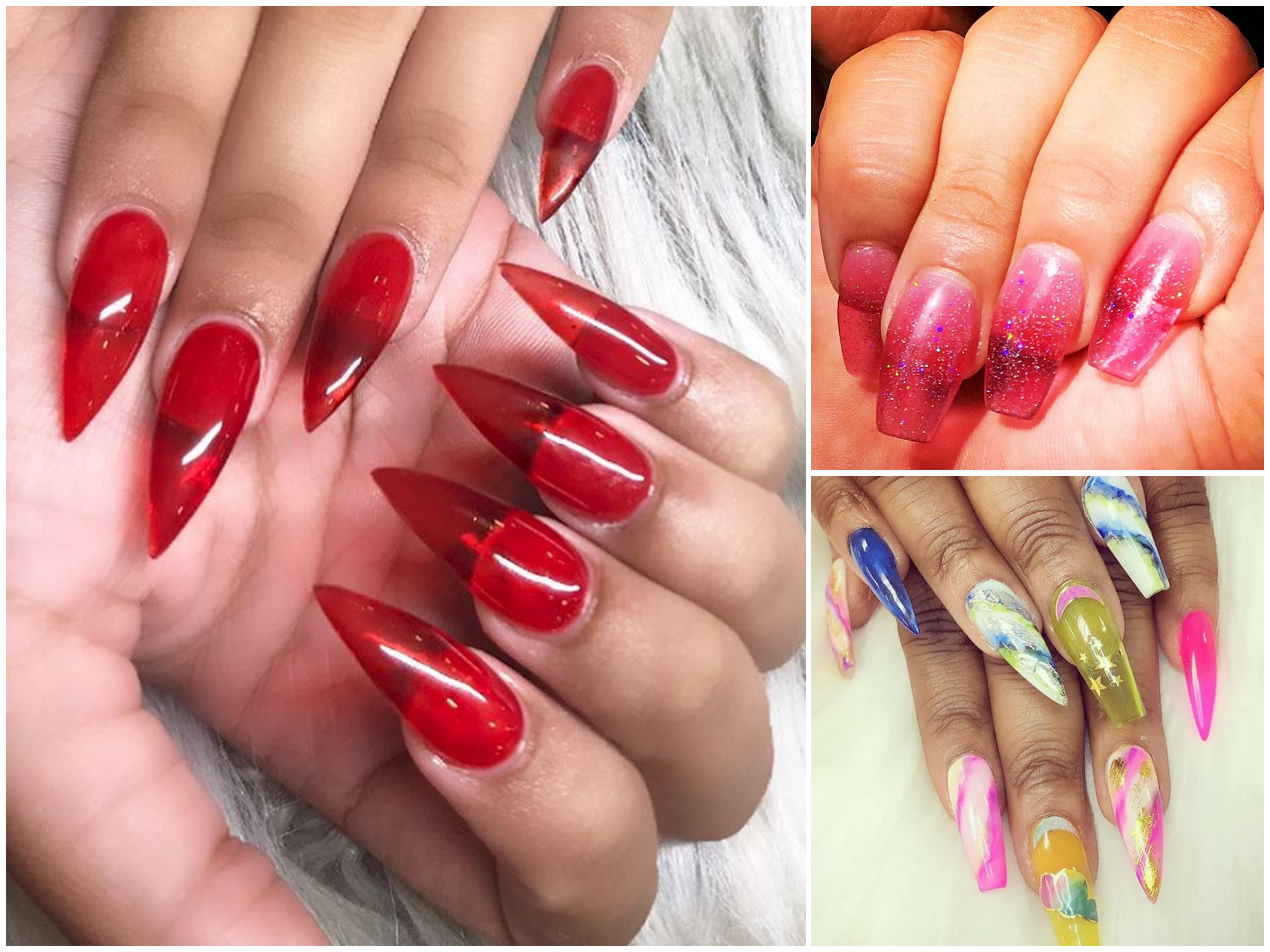 Jelly Nails, il nuovo trend Instagram dedicato alle unghie