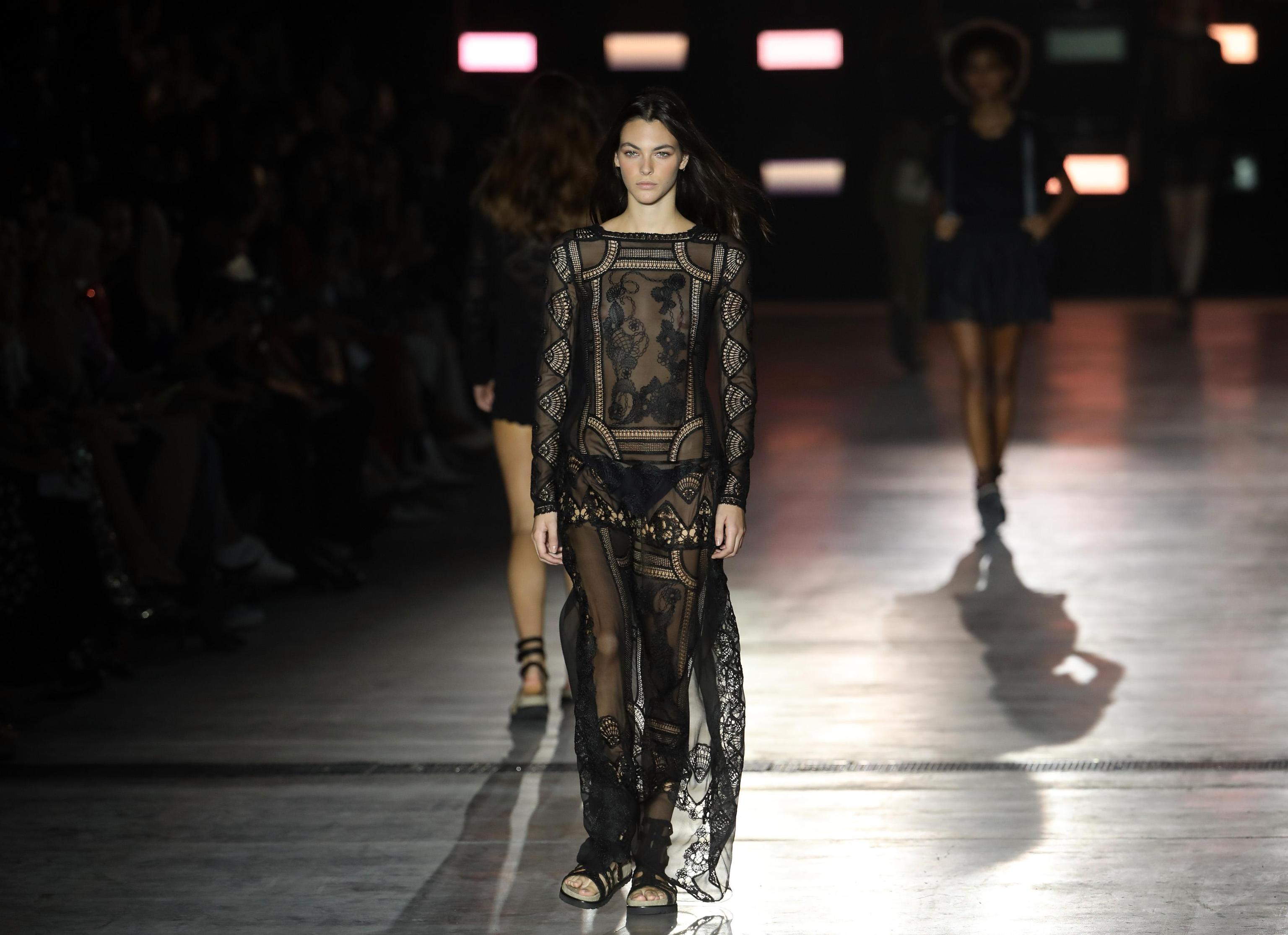 Abito Alberta Ferretti milano fashion week 2018