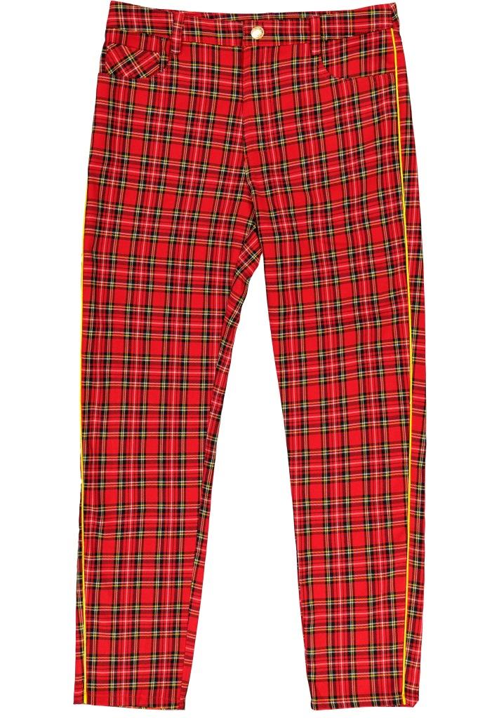 Pantaloni a quadri Alcott autunno inverno 2018 2019