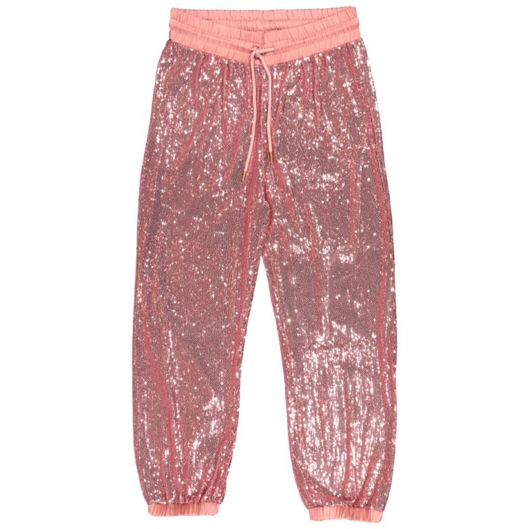 Pantaloni joggers con paillettes Alcott