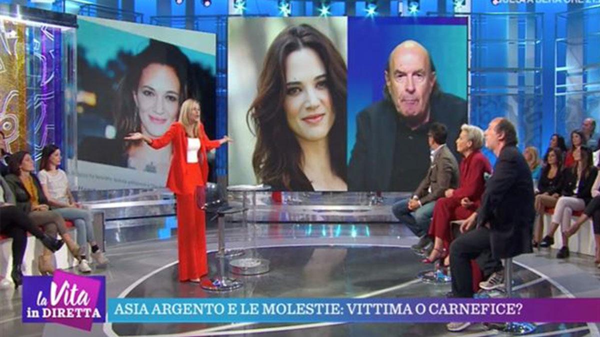 Francesca Fialdini e Stefano Zecchi: lite a La Vita in Diretta