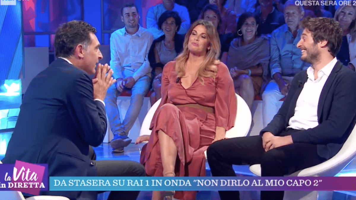 Tiberio Timperi rivela: 'Ho chiesto di uscire a Vanessa Incontrada, mi ha dato un due di picche'