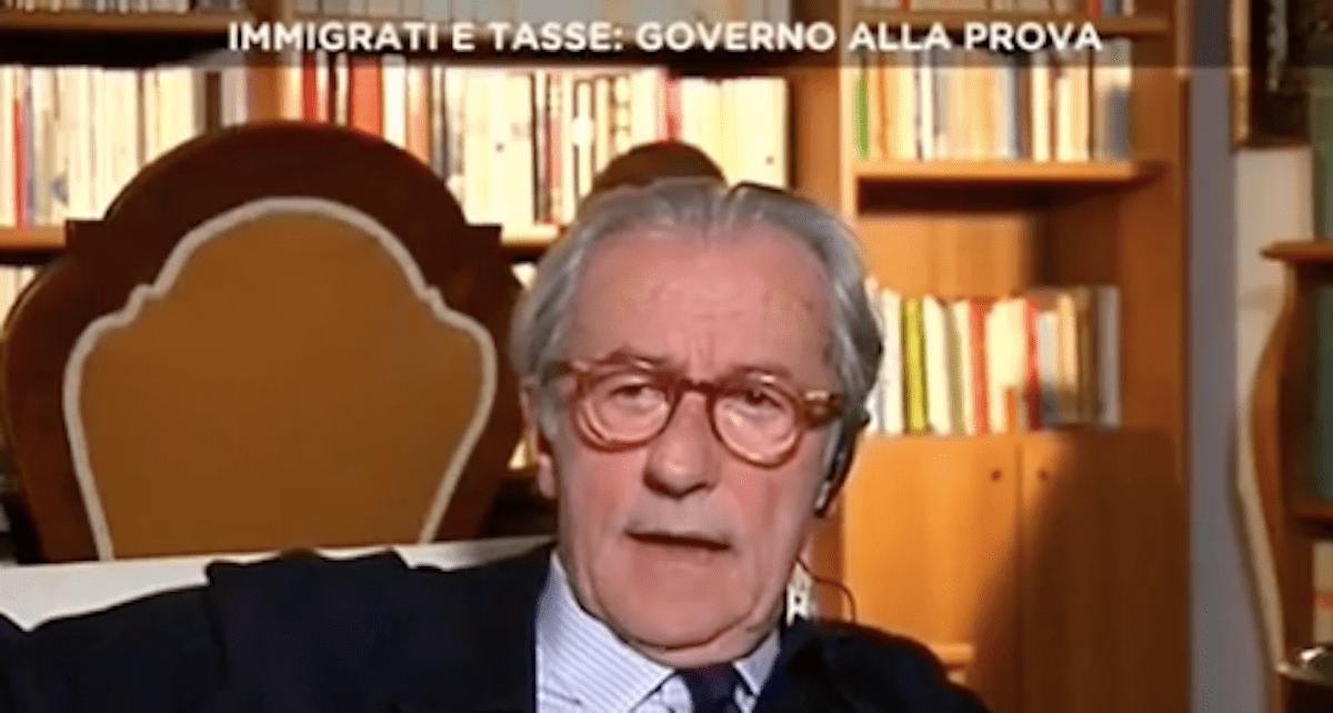 Vittorio Feltri contro Veronica Gentili, continua la lite per il fuorionda imbarazzante