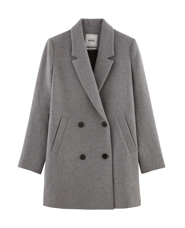Cappotto grigio Pimkie autunno inverno 2018 2019