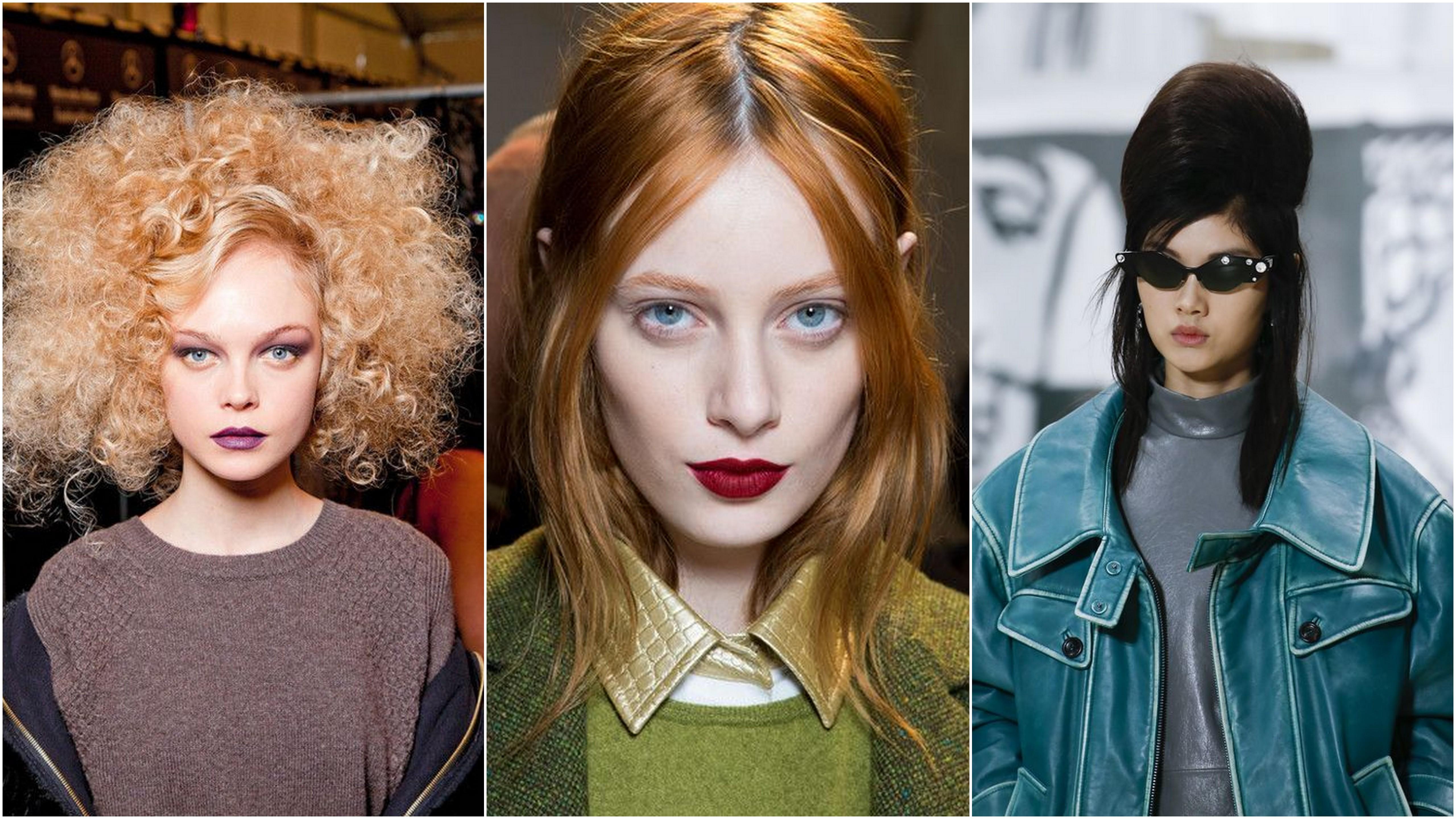 Il colore di capelli dell'autunno 2019 è quello di Anja Rubik il biondo rosso ispirato a David Bowie
