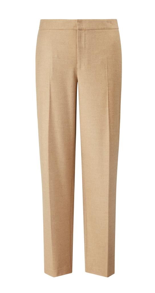 Pantaloni beige Violeta by Mango inverno 2019