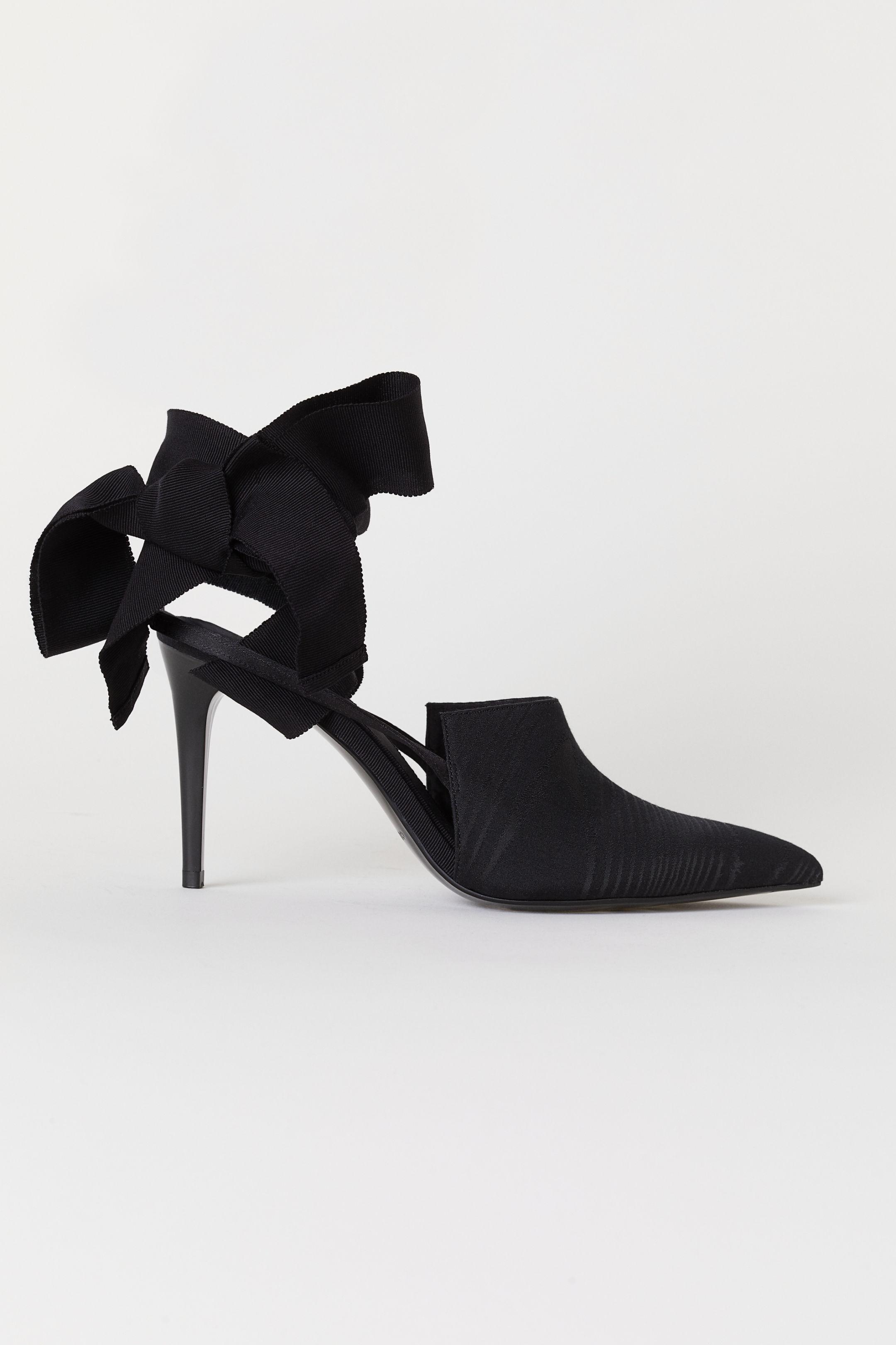 Scarpe eleganti con tacco H&M a 69,99 euro autunno inverno 2018 2019