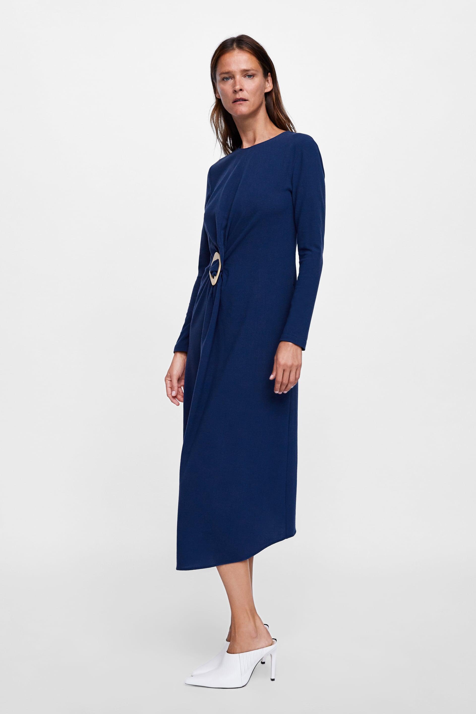 Vestito in lana lungo Zara