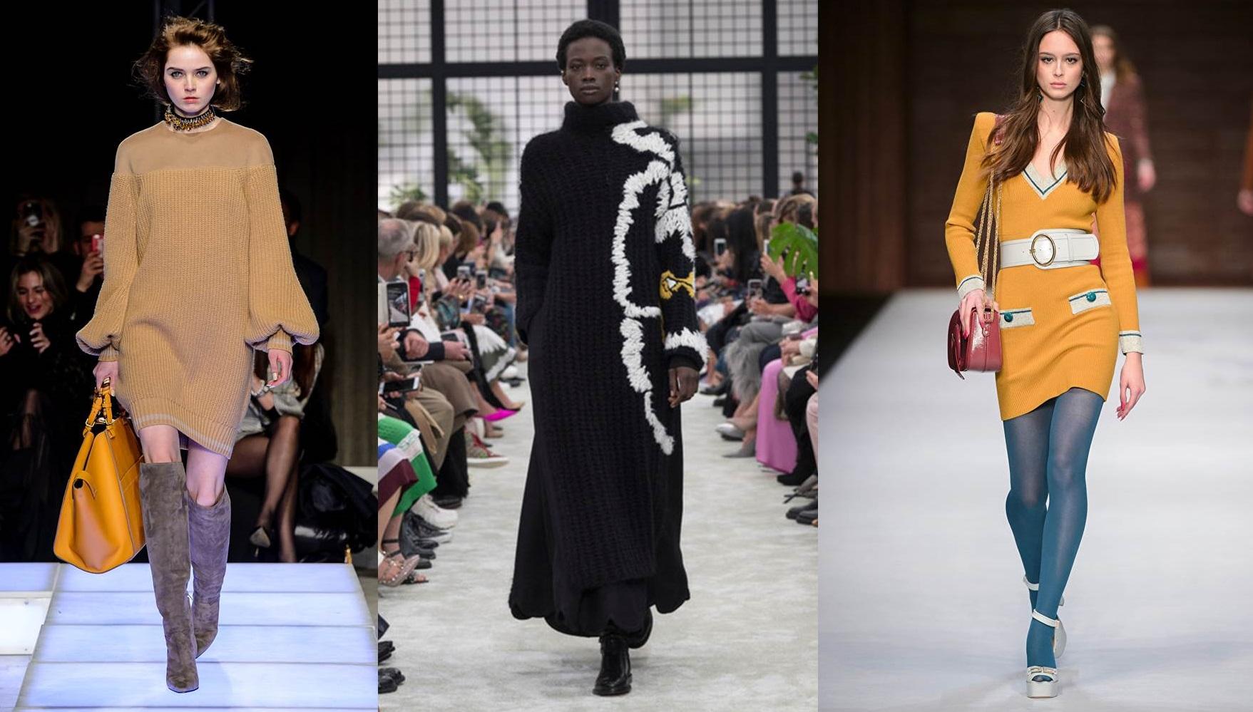 Vestiti in lana e in maglia, il trend più fashion per un caldo inverno
