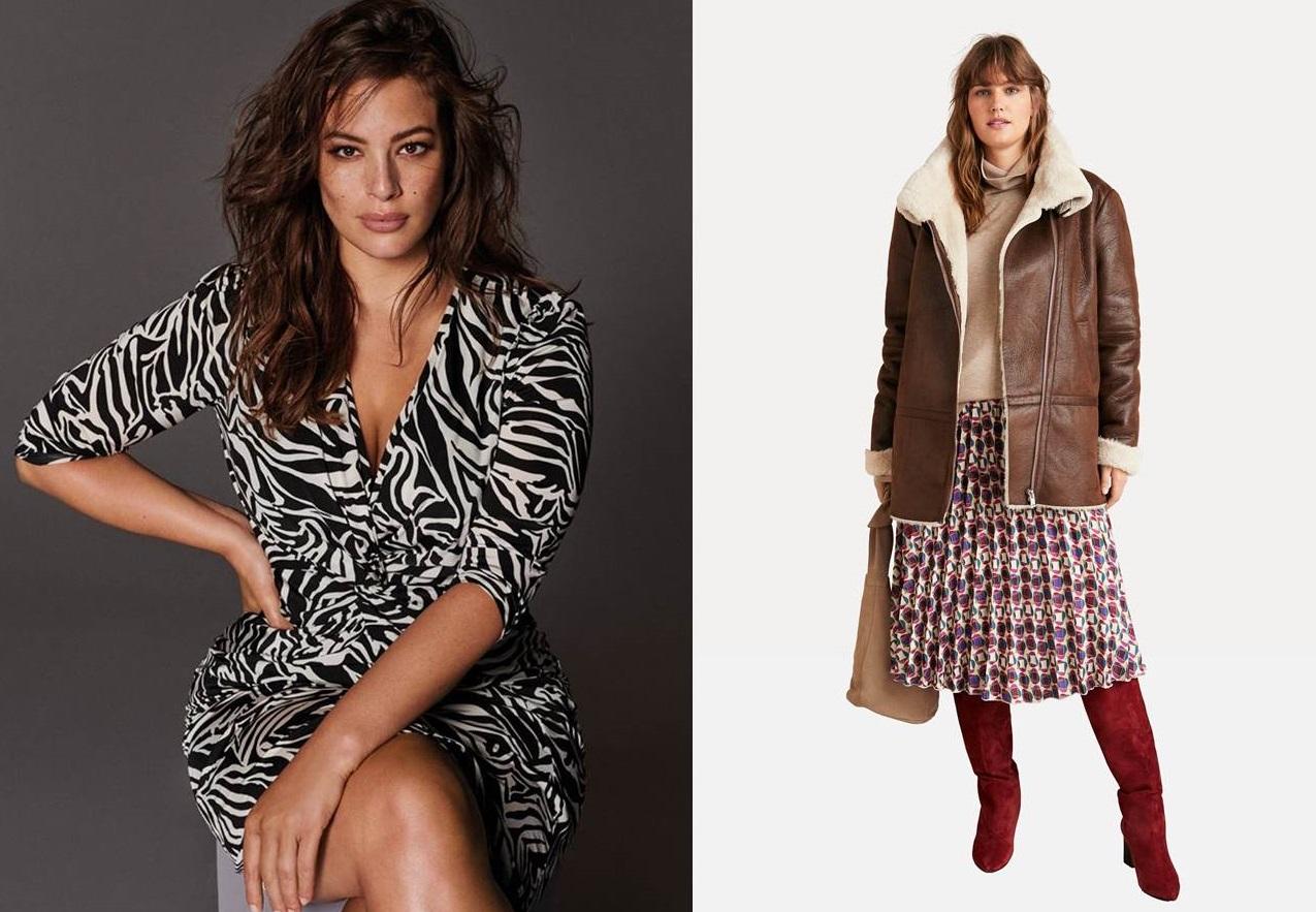 Violeta by Mango, la collezione di moda curvy Autunno/Inverno 2018-2019 più fashion