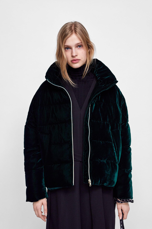Piumino puffy oversize Zara tendenze inverno 2019