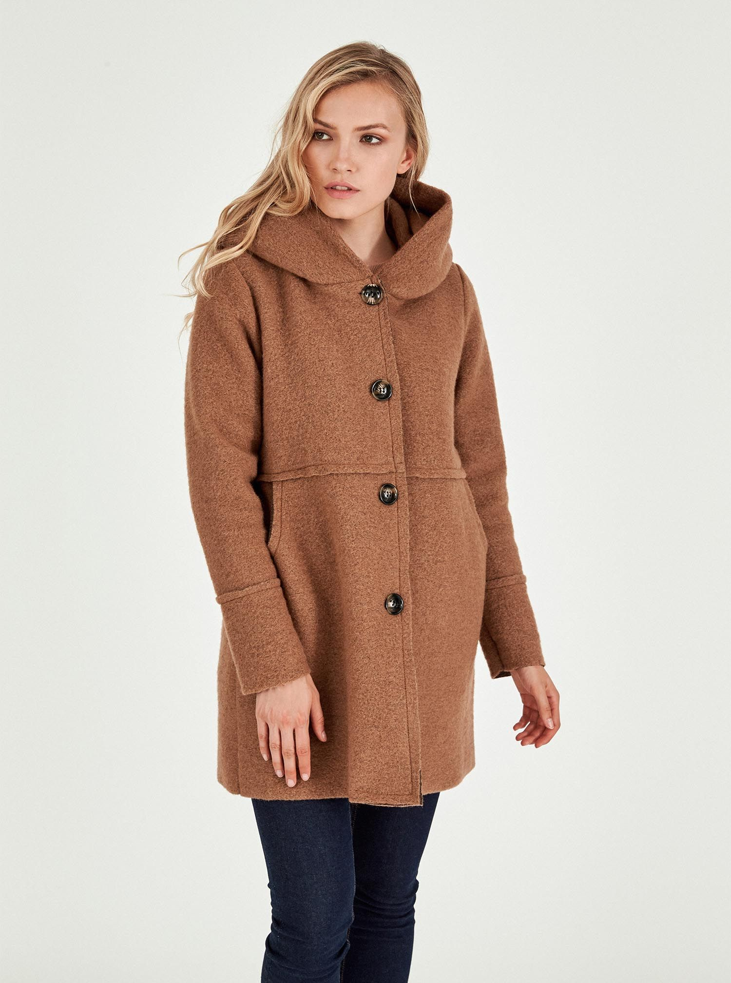 Cappotto di lana Piazza Italia al prezzo di 39,95 euro autunno inverno 2018 2019