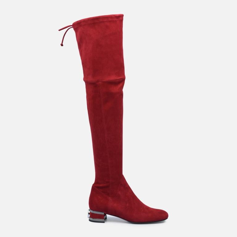 Stivali cuissard rossi Baldinini